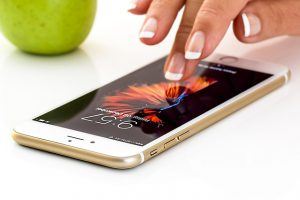 Viele Sexting Beispiele sind Smartphone verfasst